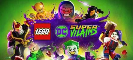 LEGO DC Super-Vilains est disponible !