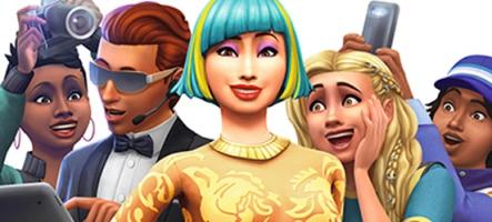 Les Sims 4 Heure de gloire : devenez une star