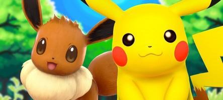 Pokémon Let's Go Pikachu et Evoli sont disponibles