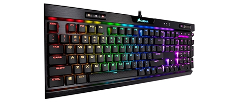 (TEST) Corsair K70 RGB MK2 Low P...