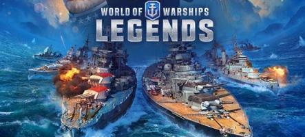 World of Warships : Legends en bêta fermée