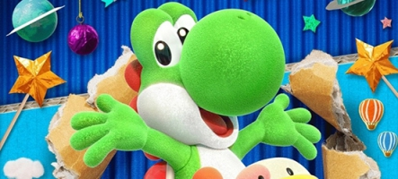 Yoshi's Crafted World sur Nintendo Switch et Kirby sur 3DS