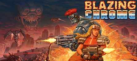 Blazing Chrome, un run and gun arcade énervé