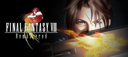Final Fantasy VIII Remastered est disponible