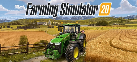 Farming Simulator 20, partout, sur Switch