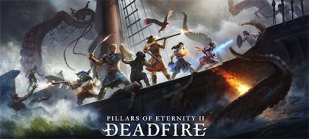 Pillars of Eternity II: Deadfire - Ultimate Edition sort sur PS4 et Xbox One