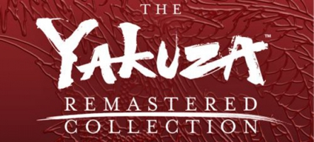 The Yakuza Remastered Collection est désormais sur PS4