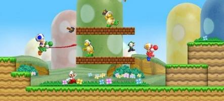 Départ réussi pour New Super Mario Bros Wii au Japon