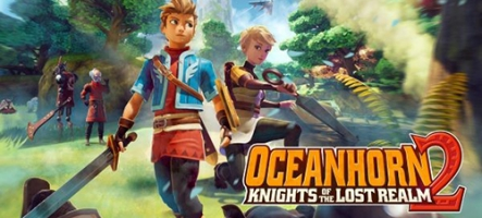 Oceanhorn 2: Knights of the Lost Realm sort sur Nintendo Switch