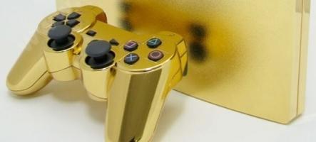 Une PS3 en or