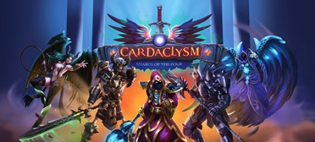 Cardaclysm: Shards of the Four, un RPG à cartes sort sur Steam