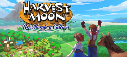 Harvest Moon : Un Monde à Cultiver sort vendredi sur Nintendo Switch