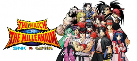(TEST) SNK VS Capcom : The Match of the Millennium (Nintendo Switch)