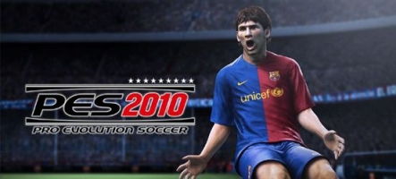 PES 2010 s'offre un patch accompagné d'un DLC gratuit
