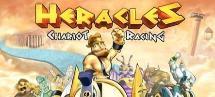 Heracles Chariot Racing, un jeu mini bien sympathique