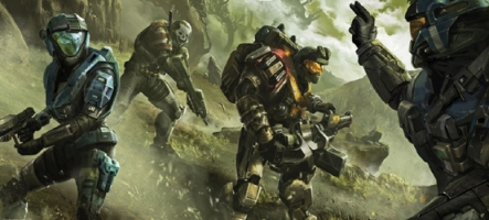 Halo Reach : de l'art et du screenshots