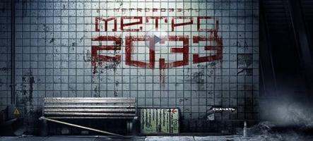 Metro 2033 sera bien plus beau sur PC