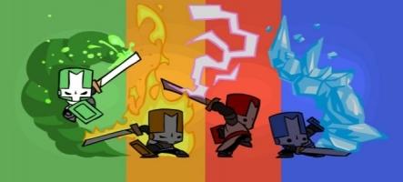 Du volley dans Castle Crashers sur PS3