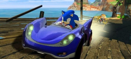 Test : Sonic & Sega All-Stars Racing (PS3/Xbox 360/Wii)