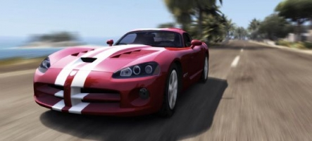 Test Drive Unlimited 2 sur les rails