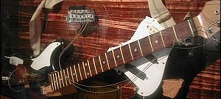 Un jeu musical avec des bouts de vraie guitare dedans