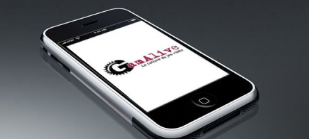 GamAlive s'affiche sur iPhone !