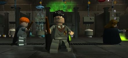 Lego Harry Potter, une nouvelle vidéo comme par magie