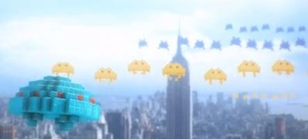 New York attaqué par les pixels