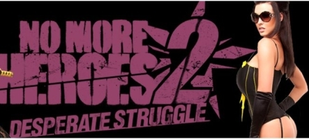 No More Heroes 2 inspire une collection de lingerie