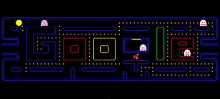 Plus de 4,8 millions d'heures passées sur Pac Man Google