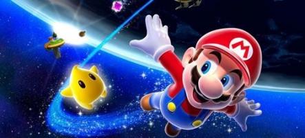 Départ en demi-teinte pour Super Mario Galaxy 2
