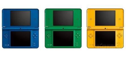 Trois nouvelles couleurs pour la DSi XL