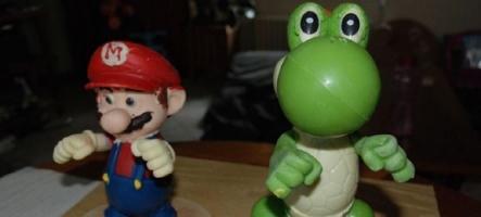 Mario et Yoshi à croquer