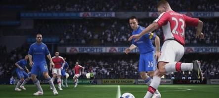 Les premières images de FIFA 11 dévoilées