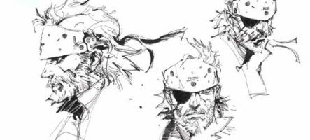 Les dessins originaux de Metal Gear Solid s'exposent
