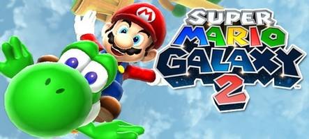 Super Mario Galaxy 2 cartonne