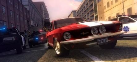 Driver, un jeu Comic