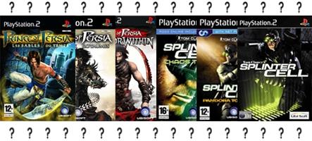 Les trilogies PS2 Splinter Cell et Prince of Persia rééditées pour la PS3 ?