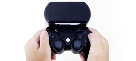 Fixez votre Dual Shock 3 à votre PSP Go