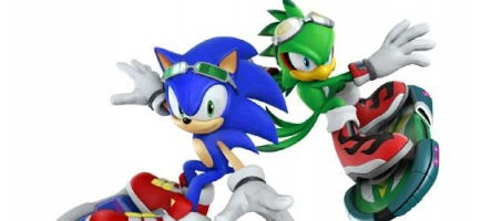 (Test) Sonic Free Riders (Xbox 360 Kinect)