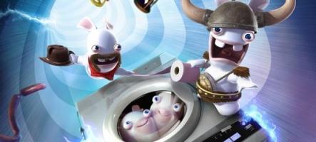 (Test) The Lapins Crétins : Retour vers le passé (Wii)