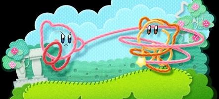 Une date et un nouveau nom pour Kirby's Epic Yarn