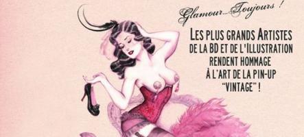 Une exposition d'art Pin-Up à Paris