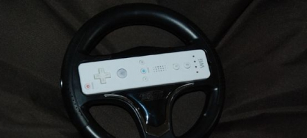 Un volant Wii estampillé Need For Speed