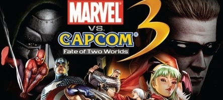 Marvel vs Capcom 3 est un jeu simple et Cheap