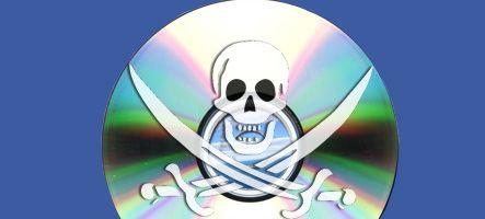Le piratage mondial concentré dans 5 pays, dont la France