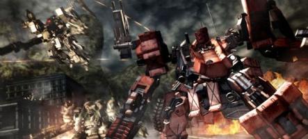 Une flopée d'images pour Armored Core V