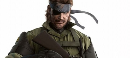Metal Gear Solid: Snake Eater 3DS pour novembre