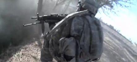 Afghanistan : Un vrai combat en vue FPS
