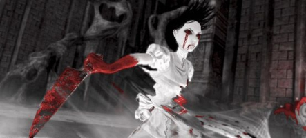 Alice Madness Returns en noir et blanc (et rouge sang)